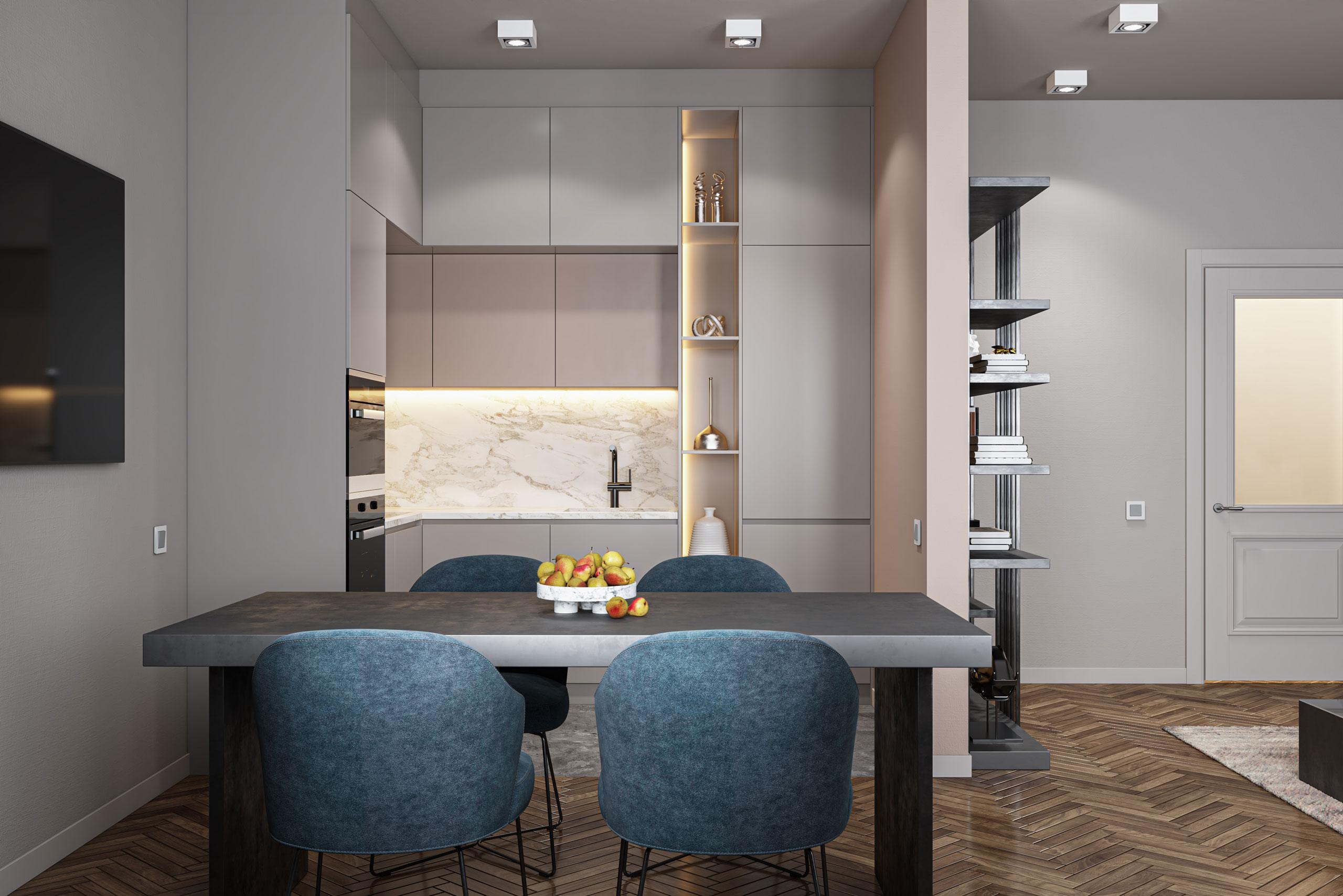 3D Visualisierung Küche