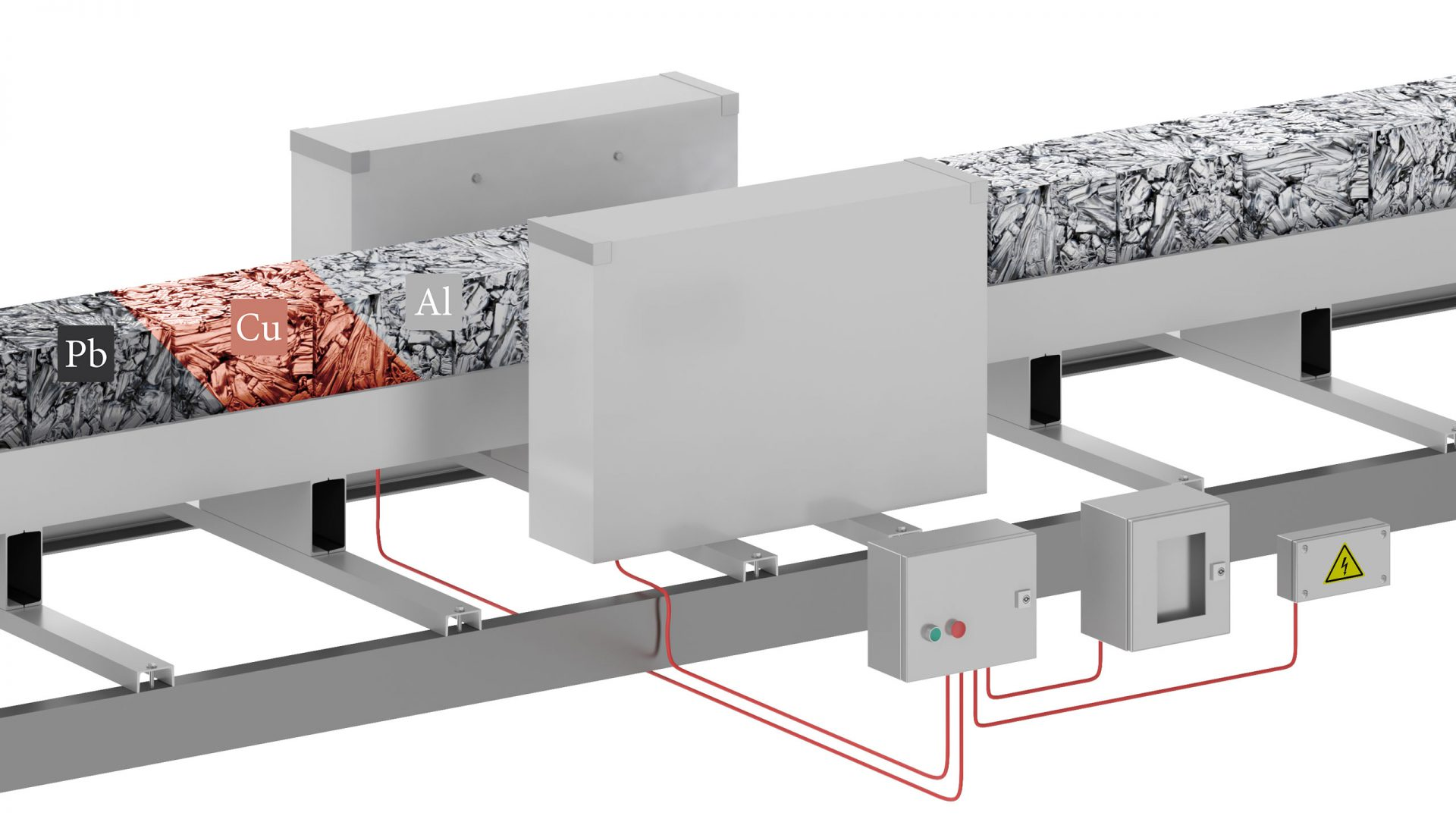 3D Visualisierung Metallsuchgerät