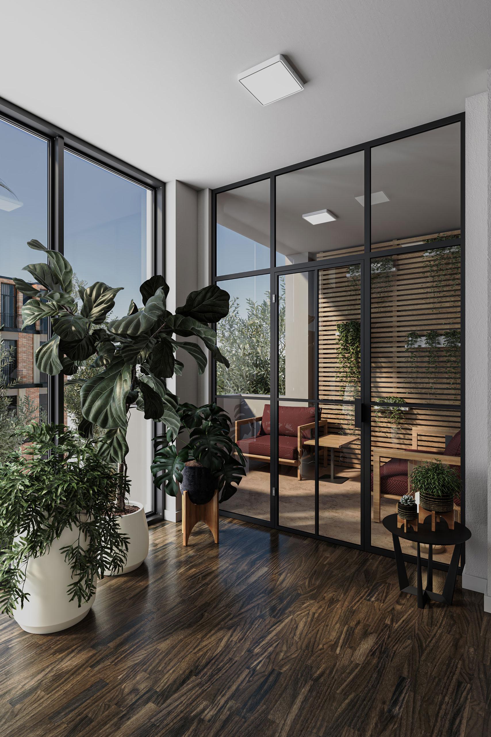 3D Visualisierung Balkon